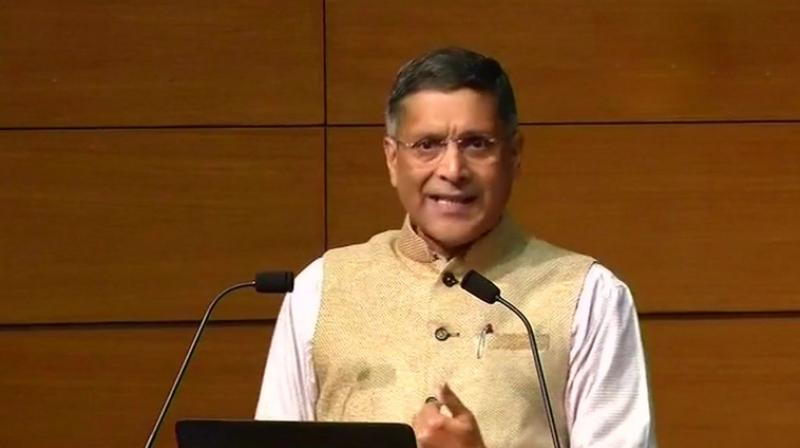Chief Economic Advisor Arvind Subramanian said that he had the best job and 'also the best job I will ever have'. (Photo: File/ANI)