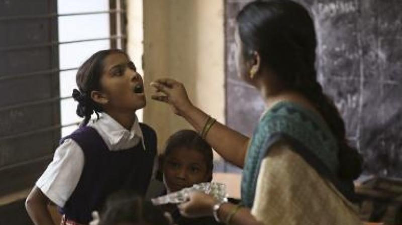 National Deworming Day is a central government initiative make people aware about worm infections, its impact on the health, prevention and curing the infection. (Representational Image)