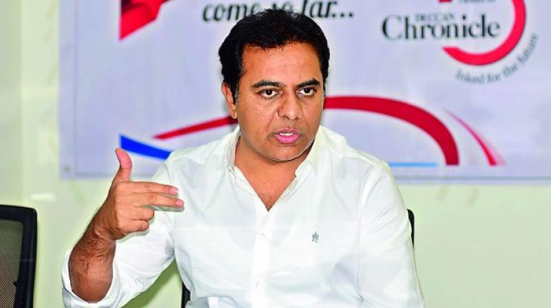 IT minister K.T. Rama Rao said that TS will be the second state to launch T app folio – a comprehensive app store of all TS government services.