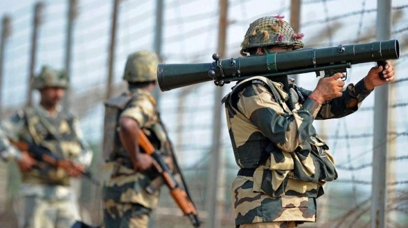 Pakistan army shells LoC areas in J&K's Poonch