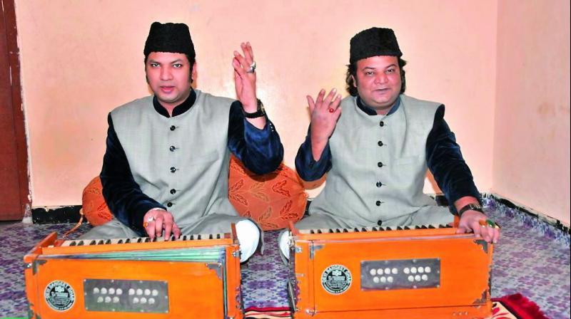 The Ahmed Brothers — Amjad Khan Warsi and Asad Khan Warsi