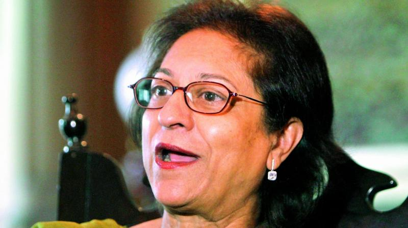 Asma Jahangir faced death threats, beatings and imprisonment to win landmark human rights cases while standing up to dictators. (Photo: File)