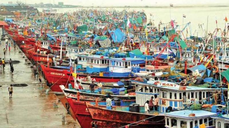 Fishing boats line the shores of coastal Karnataka (for representation only)