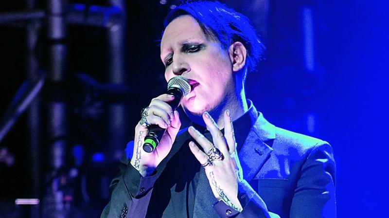 Marilyn Manson Suffered A Confusing, Rambling Meltdown Last Night