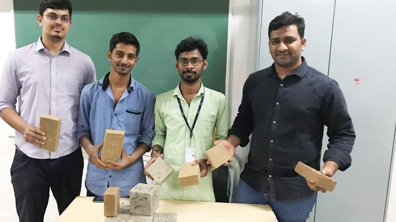 CMRIT Team - Team CO3 Structural Systems with products developed as part of their innovation