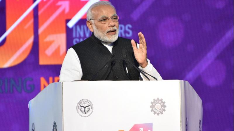 Modi inaugurates Uttar Pradesh Investors Summit, top business leaders pledge investments