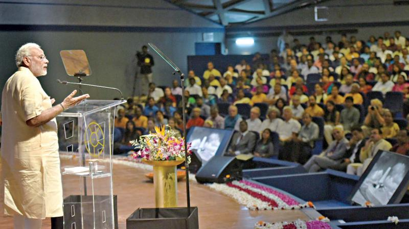 Modi stresses on public safety in 'Mann Ki Baat'