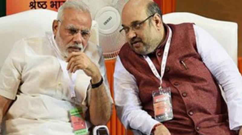 Congress demanded that both Prime Minister Narendra Modi and BJP chief Amit Shah apologise to nation for 'inviting' ISI to Pathankot air base and for reposing faith in it. (Photo: File | PTI)