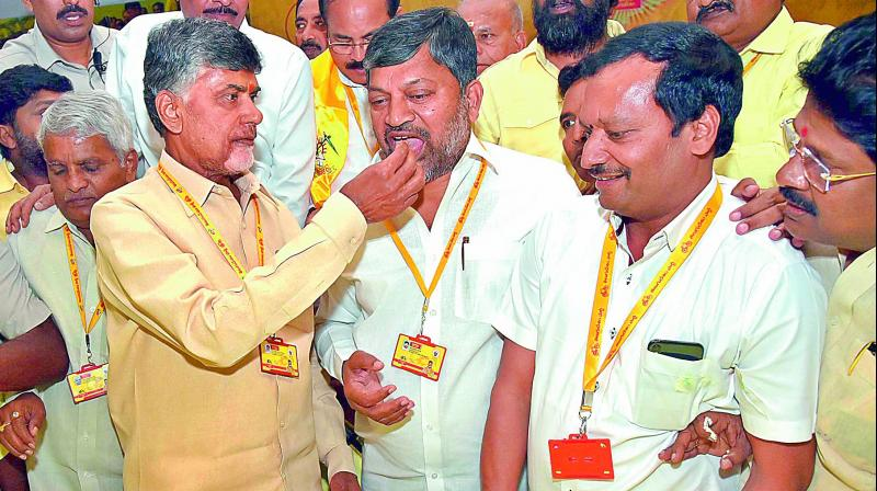 Chandrababu silent on NTR