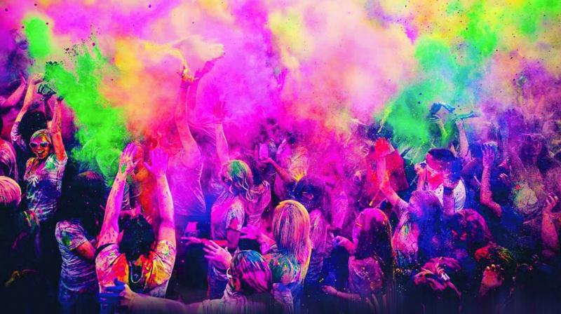 Holi is also called the Spring Festival since this day is considered as the end of a gloomy winter and the start of spring followed by summer, promising a good harvest for the farmers and blooming flowers in the gardens filling the atmosphere with their fragrance.