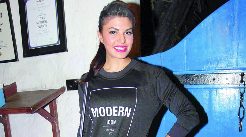 Jacqueline Fernandez is still smiling