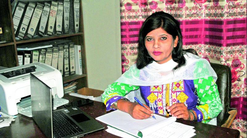 In a historic first, Hindu woman elected to Pakistan's senate
