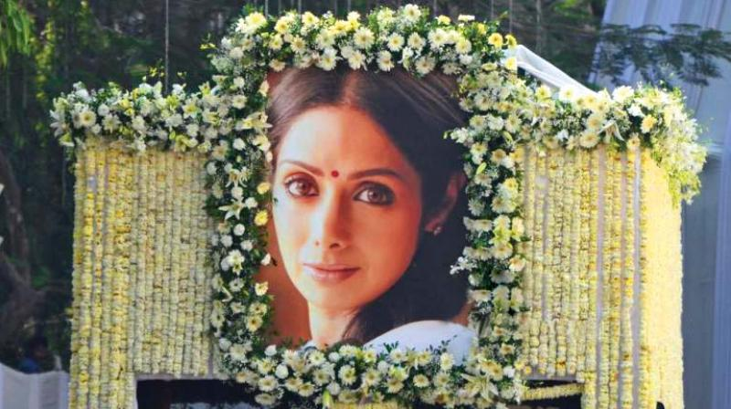 State funeral to Sridevi on CMO's instructions: RTI reply