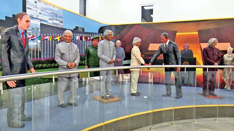 Dr Kalam memorial attracts a large number of tourists & pilgrims