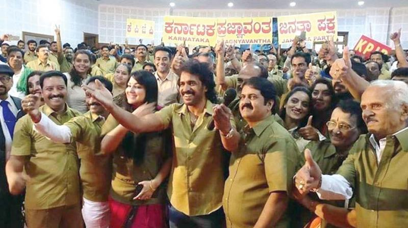 Upendra's KPJP hit by internal bickering