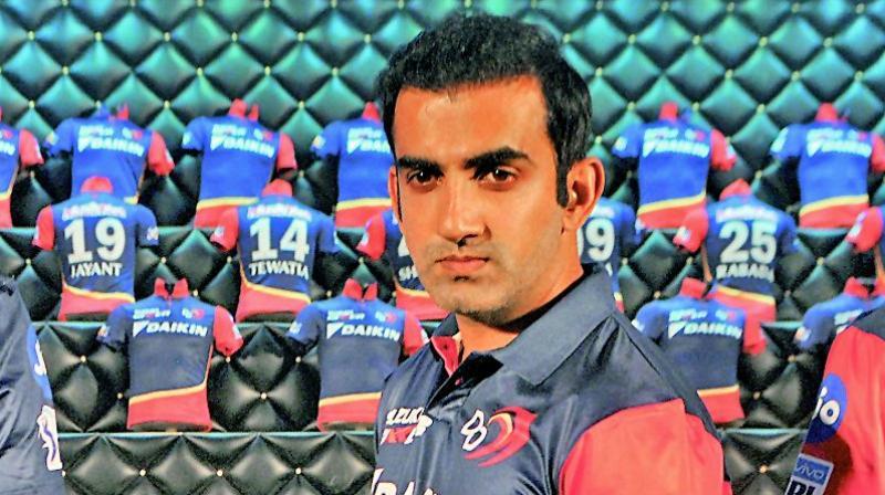 Delhi Daredevils appoint former KKR star Gautam Gambhir captain for IPL 2018
