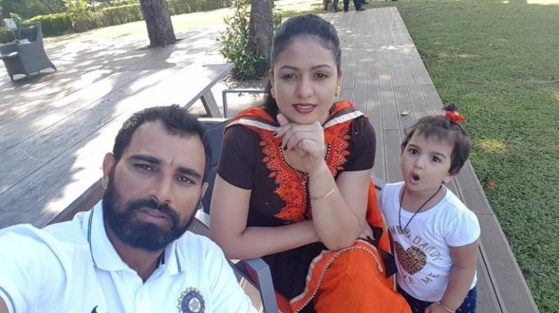 Mohammed SHami in an interview said that the fight within my house should not tarnish image of his daughter and wife. (Photo: Twitter)