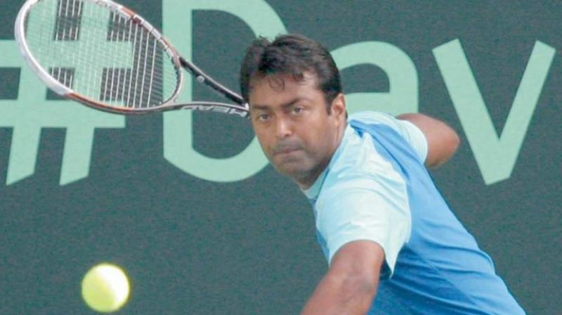The last time the 46-year-old Leander Paes was placed outside top-100 was in October 2000 when he was ranked 118. (Photo: File)