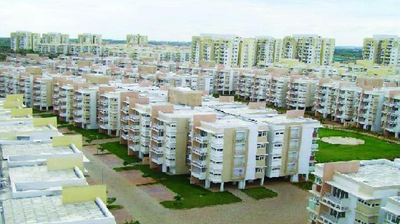The erstwhile AP Housing Board had entered into an agreement with private infrastructure companies for taking up 21 projects (residential and commercial) in AP. Of this, 15 are currently in Telangana.