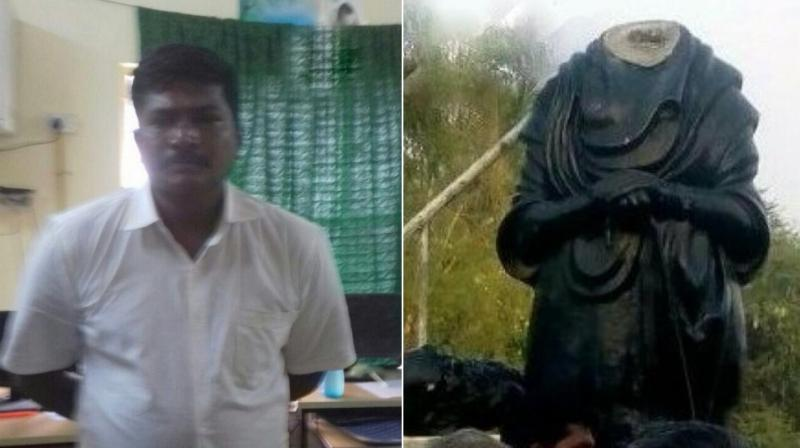 Statue violence far from over: Periyar statue vandalised in Tamil Nadu