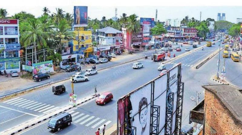 Kazhakkoottam-Vettu road