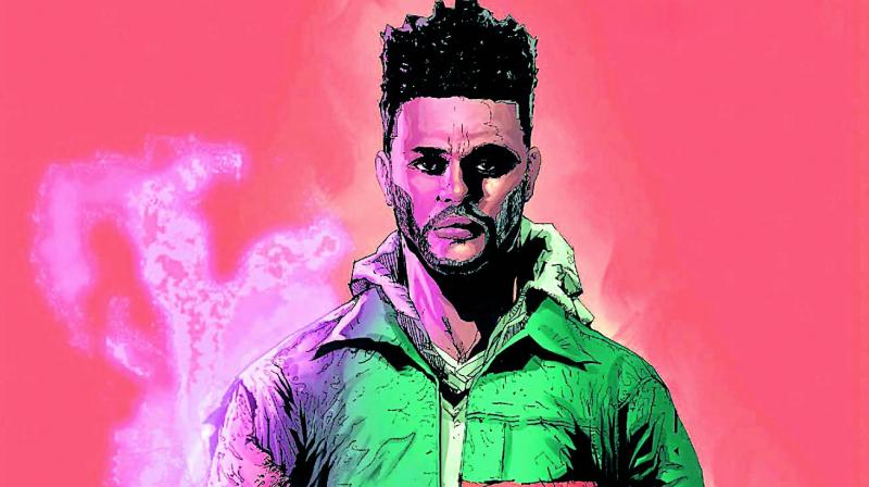 The Weeknd's Starboy album will be released on June 13.