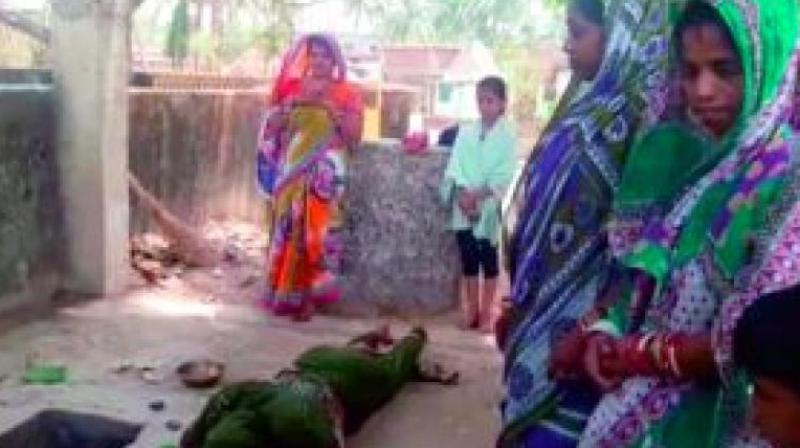 16-day-old infant snatched by monkey in Odisha found dead in well