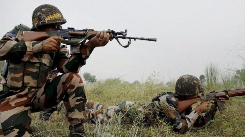 Pakistan violated ceasefire in Keri and Digwar areas of Poonch district in Jammu and Kashmir. (Photo: PTI/File)