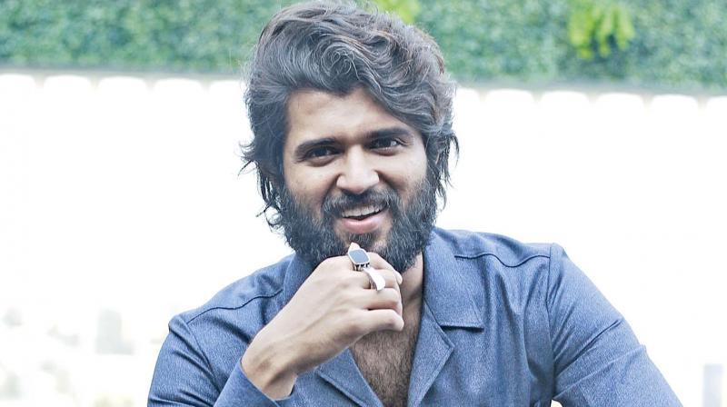 When we  cry, it is an emotion. Similarly, a kiss is also an emotion.  It is such an intimate private emotion that appears in a crucial segment in the film  — Vijay Devarakonda
