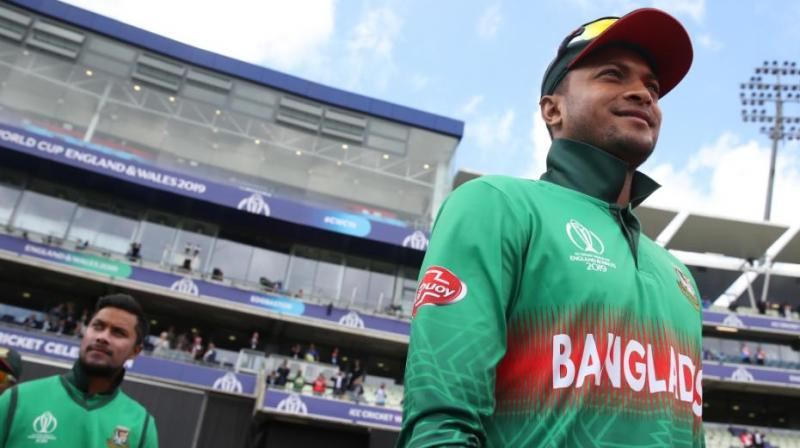 Bangladesh takes on Sri Lanka in the first ODI of the three-match series on July 26. (Photo: Cricket World Cup/Twitter)
