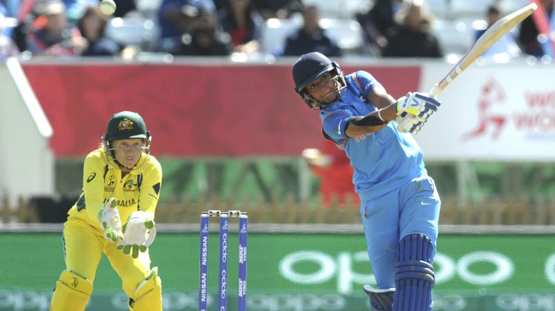 Harmanpreet Kaur  hit an unbeaten 171 off just 115 balls in the semi-final match against Australia to knock out the reigning champions from the tournament. (Photo: AP)