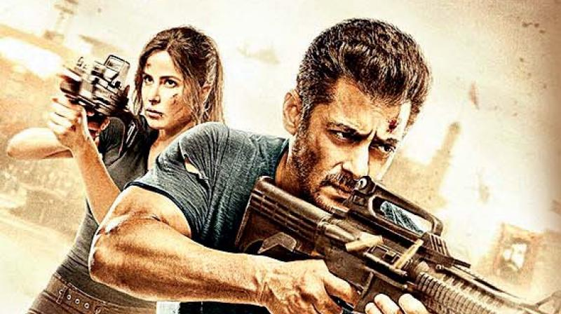 Tiger Zinda Hai movie poster.