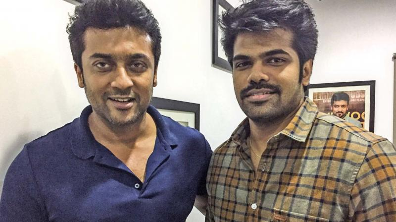 Suriya and Aravind.