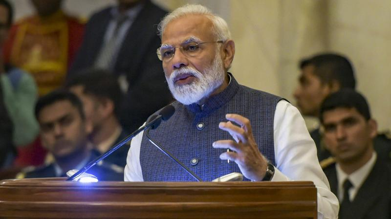 The world takes note of what India does and the nation has the power to 'change dictionary meanings', Modi said at a housing ministry event here. (Photo: File)