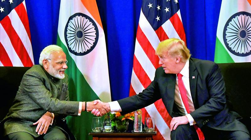 Prime Minister Narendra Modi and US President Donald Trump  (Photo: PTI )