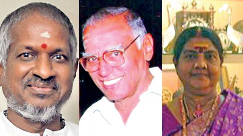 Tamil Nadu leaders greet Padma awardees