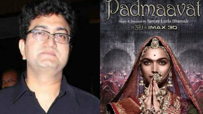 Prasoon Joshi has also been embroiled in the controversy surrounding 'Padmaavat.'