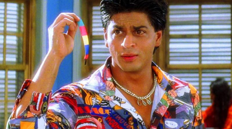 Shah Rukh Khan in a still from 'Kuch Kuch Hota Hai'.