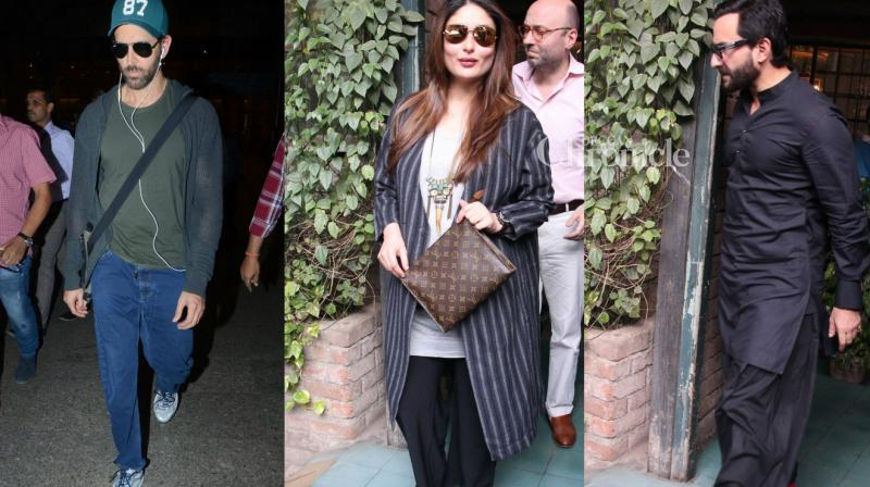 Numerous celebrities were snapped at various locations in Mumbai on Friday. (Photo: Viral Bhayani)