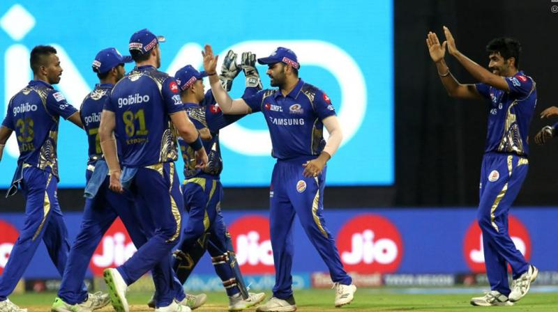 MI scripted a thrilling comeback to beat KXIP by three runs. (Photo: BCCI)