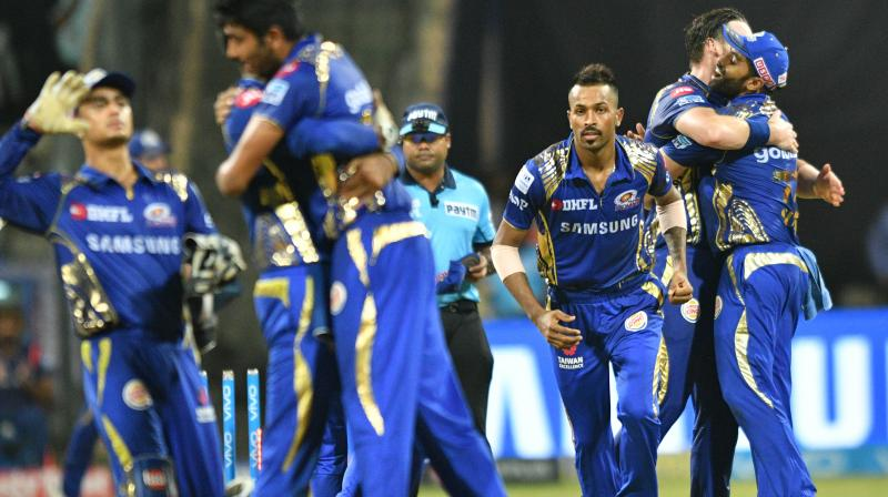 MI managed to held onto their nerve and register a much-needed victory
