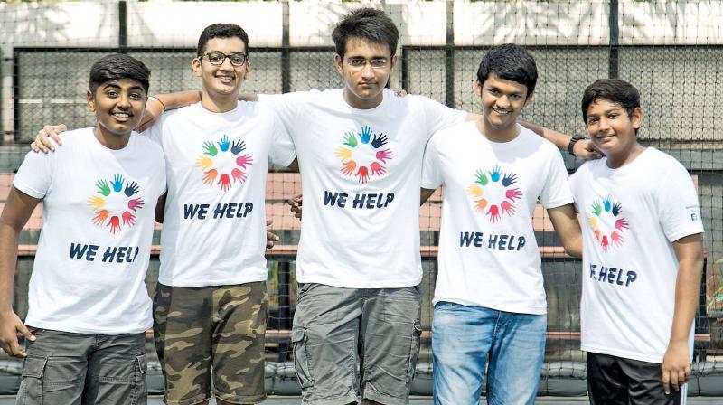 'We Help' members