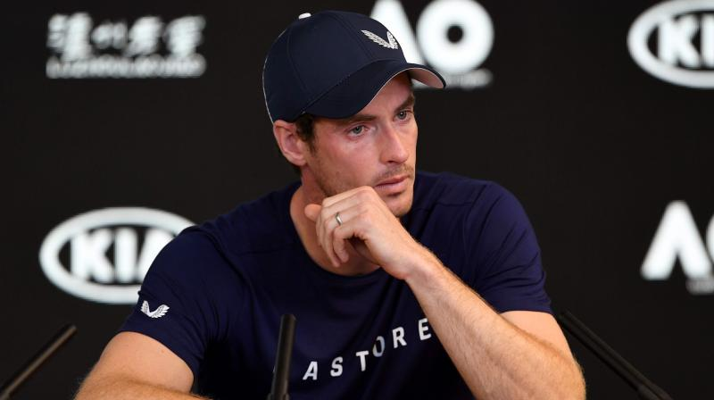 The former world number one and three-time Grand Slam winner broke down at a press conference in Melbourne as he said the pain had become almost unbearable.(Photo: AFP)