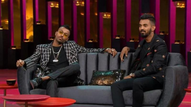 The controversy-filled episode of Koffee with Karan involving India cricketers Hardik Pandya and KL Rahul has been taken down by video-streaming website Hotstar. (Photo: Screengrab)