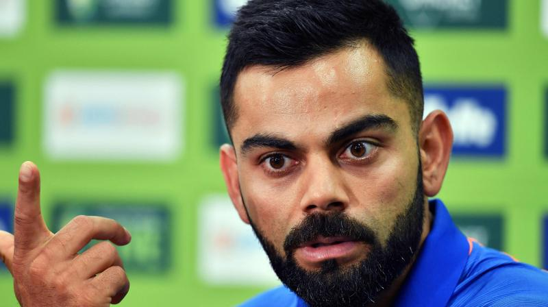 Kohli said the team remains in high spirits following the unprecedented success in the recently concluded Test series. (Photo: AFP)