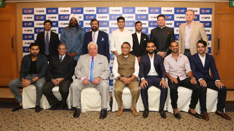 Virat Kohli has emerged as the International Cricketer of the Year at the CEAT Cricket Ratings awards which took place in Mumbai on Monday. Rohit Sharma collected the award on behalf of Kohli. (Photo: Deccan Chronicle)