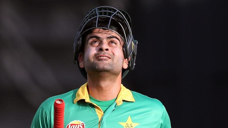 Pakistan's Ahmed Shehzad provisionally suspended over failed dope test