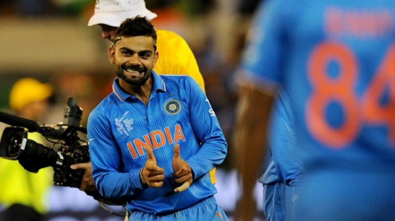Virat ohli's India will be playing their first match of the World Cup against South Africa on June 5. (Photo: AFP)
