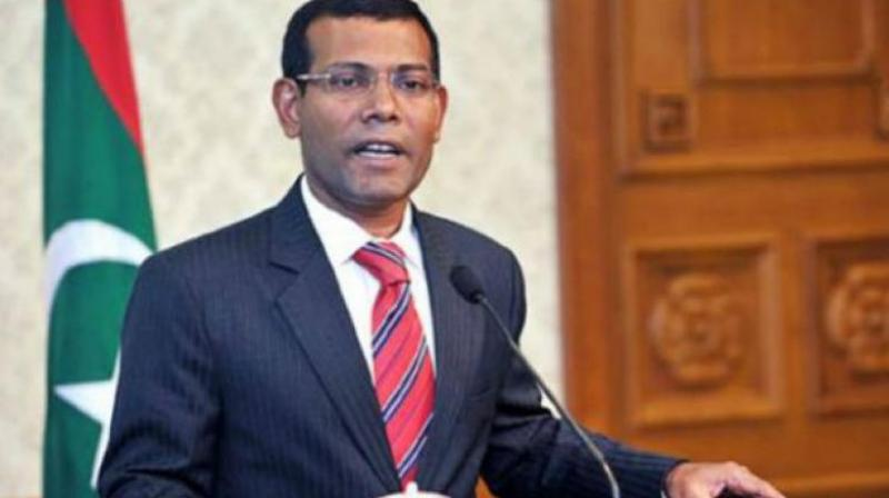 Exiled Maldives opposition leader Mohamed Nasheed. (Photo: AFP/File)
