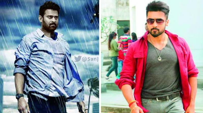 The media has lately seen a substantial amount of reports stating that Suriya intends to take on Prabhas with his next big film Kaappan.